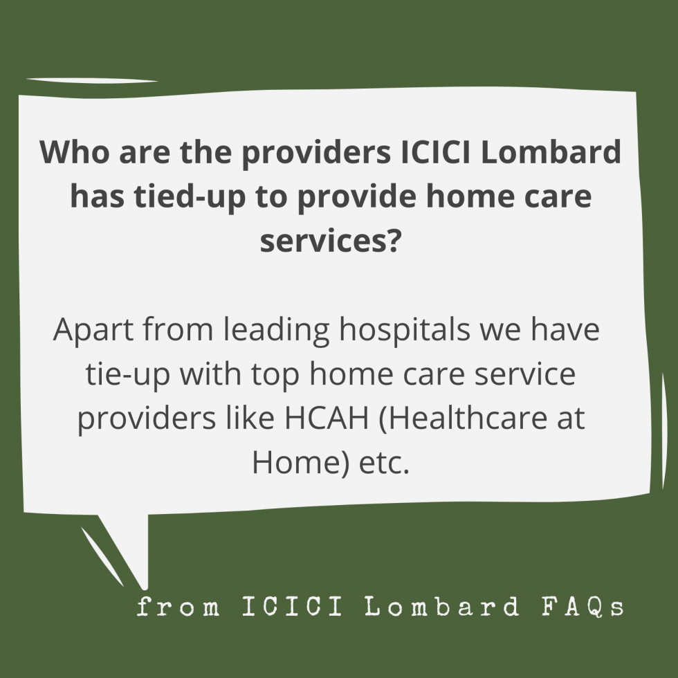 ICICI Lombard adds home healthcare, NCB benefit for ...